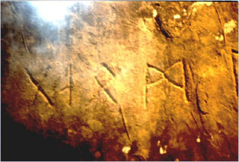 Ancient Runes in Oklahoma; Did Vikings Row Longships Up ...